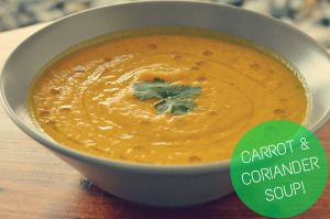 carrot and coriander
