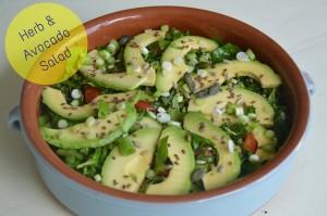 Herb & Avcado Salad