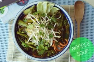 Noodles soup main