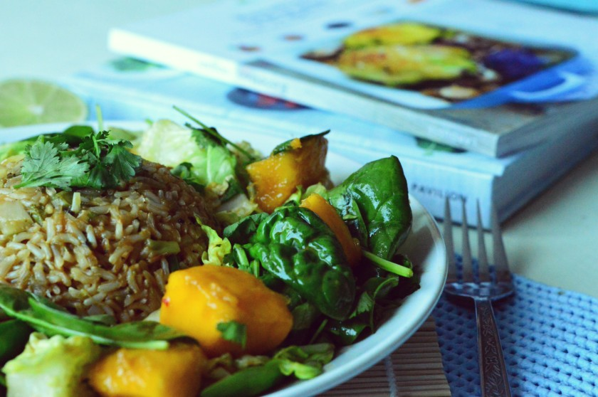 Pineapple rice 2