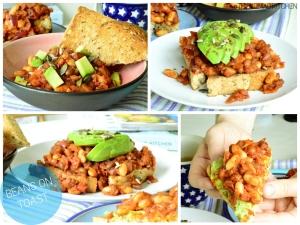 Baked beans on toast 2